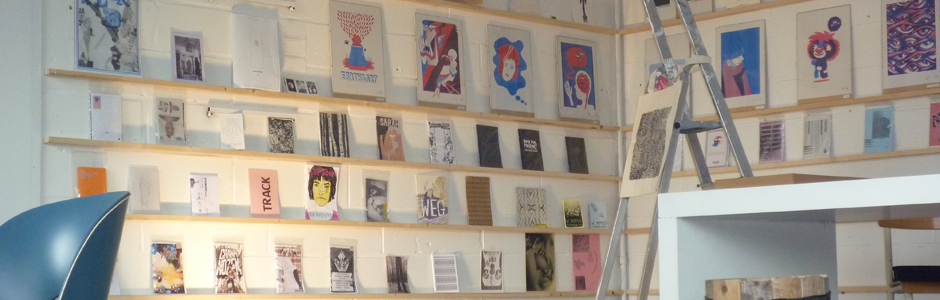 THE SHELF LIBRARY, a growing collection and ongoing expo of (fan-)zines, printed art…