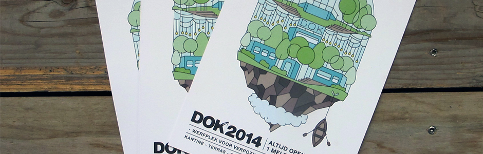 Happy to announce and proud to present the DOK 2014 Launch Campaign (design by Topo Copy crew member Dries Deriemaeker) & Topo Copy's DOK 2014 – Residency