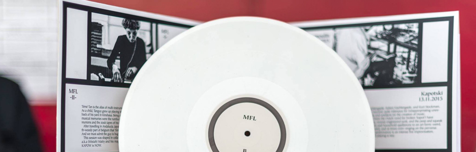Music For Library — The Vinyl Release, Limited Edition /250